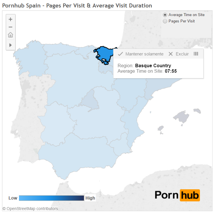 G2_PornHub_Spain_PagesperVisit
