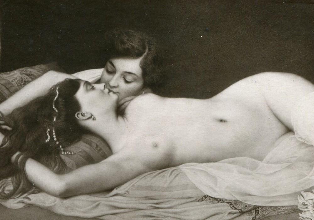 Lesbian Postcard